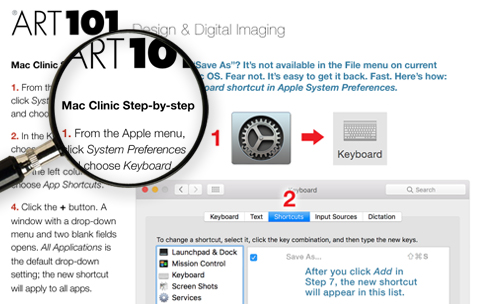 Art101 Mac Clinic Step-by-Step